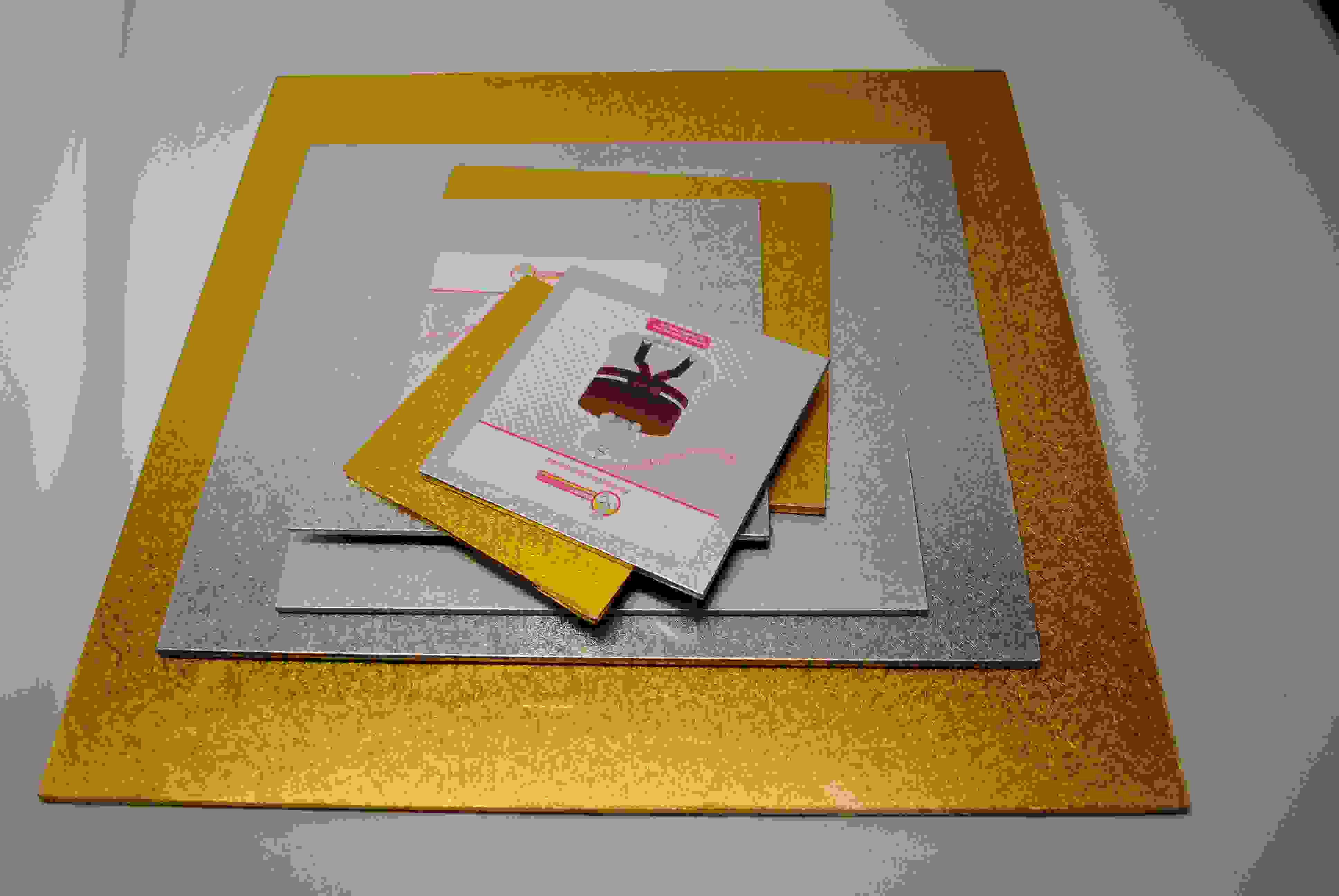 CAKE BOARDS  - Square