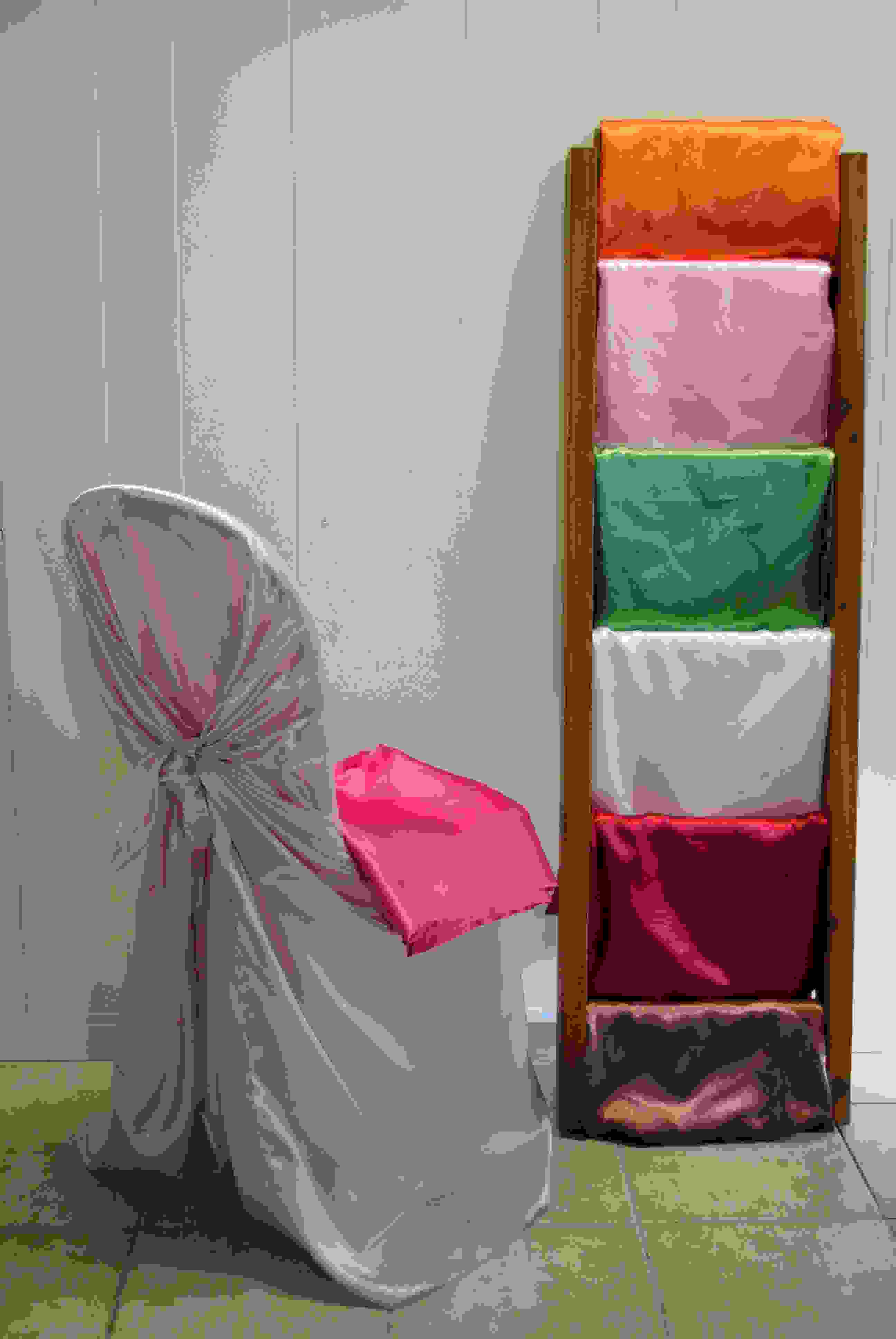 CHAIR COVERS - Satin Self Tie 2