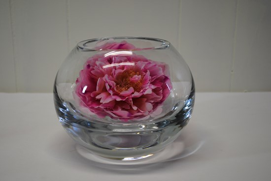 VASE, ROSE BOWL PLAIN