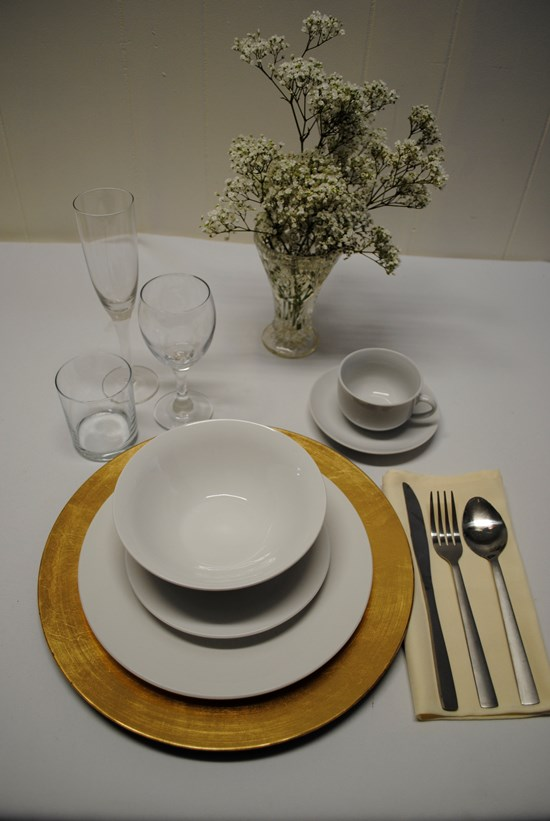 Gold Charger Plate Products Special Occasions